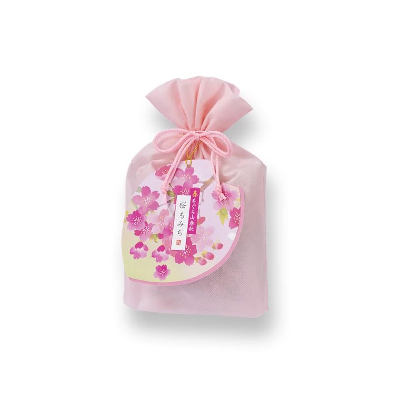 春をぐら山春秋 桜もみぢミニ化粧袋