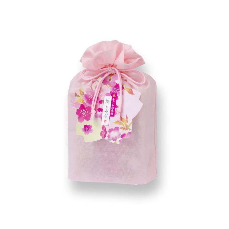 春をぐら山春秋 桜もみぢ化粧袋